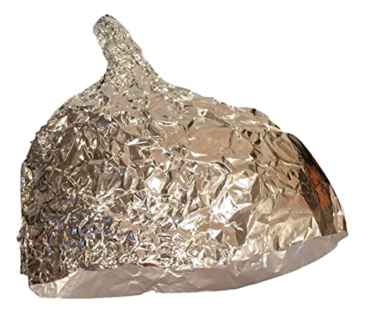 "Electro Deflecto Unisex ""Tin"" Foil Hat One Size"
