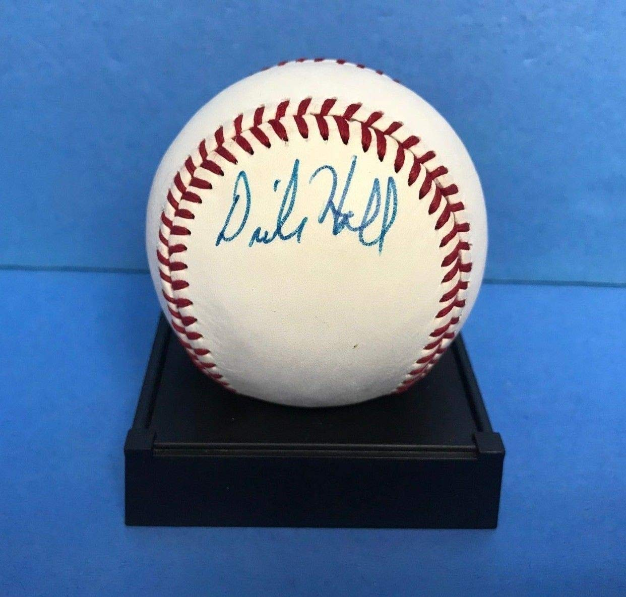 Dick Hall Baltimore Orioles Fan Favorite Signed Autograph Baseball