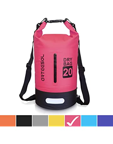 02fe99473e Arteesol Dry Bag 5L 10L 20L 30L Waterproof Dry Bag Rucksack with Double