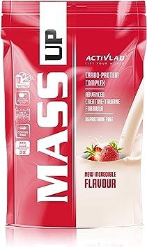 Activlab Mass Up Paquete de 1 x 5000 g Gainer – Carbohidratos ...