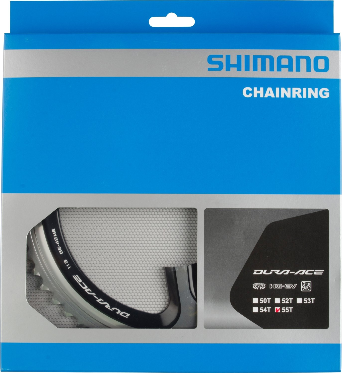 SHIMANO(シマノ) 引掛け歯付チェーンリング 55T-ME(55-42T用) FC-9000チェーンリンク55T-ME B00G9AN7T6