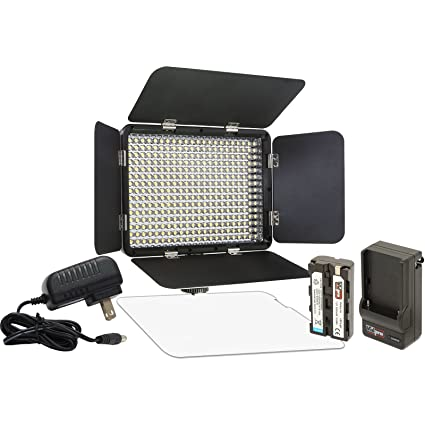 Amazoncom Vidpro Led 330x Variable Color On Camera Led Video