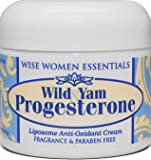Wise Essentials Wild Yam and Progesterone Cream, 2 Fluid Ounce