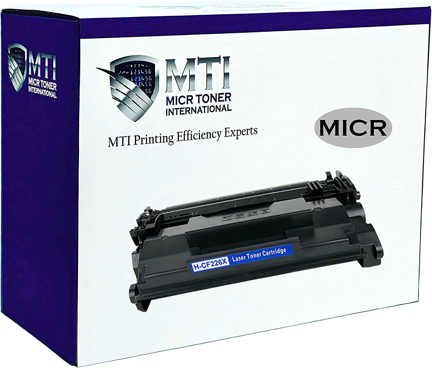 MICR Toner International Compatible High Yield MICR Toner Cartridge Replacement for HP 26X CF226X LaserJet Pro M402 M426 MFP