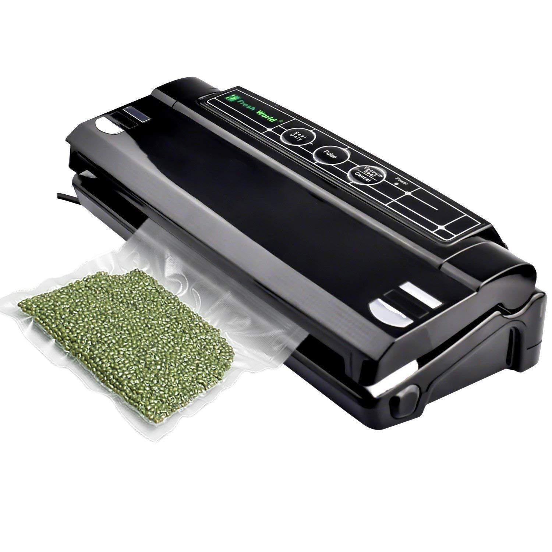 Machine Sous Vide, Webat Machine d'étanchéité Machine à sceller Home Home Smart TVS-2140 avec protection contre la surchauffe Pour Préservation D'aliments Secs / Humides    product image