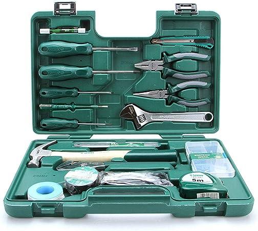 La mayoría tomó la mano Herramientas Inicio del sistema de herramientas de la carpintería del electricista del sistema de herramienta de múltiples funciones de la caja de herramientas adecuados: Amazon.es: Hogar