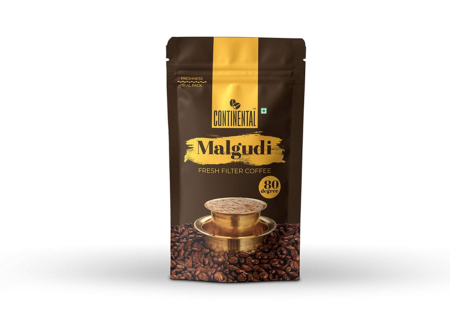 Continental Malgudi Filter Coffee Powder 200g Pouch 80 20 Kopi Chicory Grocery Gourmet Foods