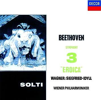 ベートーヴェン:交響曲第3番「英雄」/ワーグナー:ジークフリート牧歌