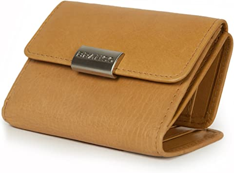 Damen Geldbörse Portemonnaie Branco Leder schwarz Brieftasche Damenbörse Börse N