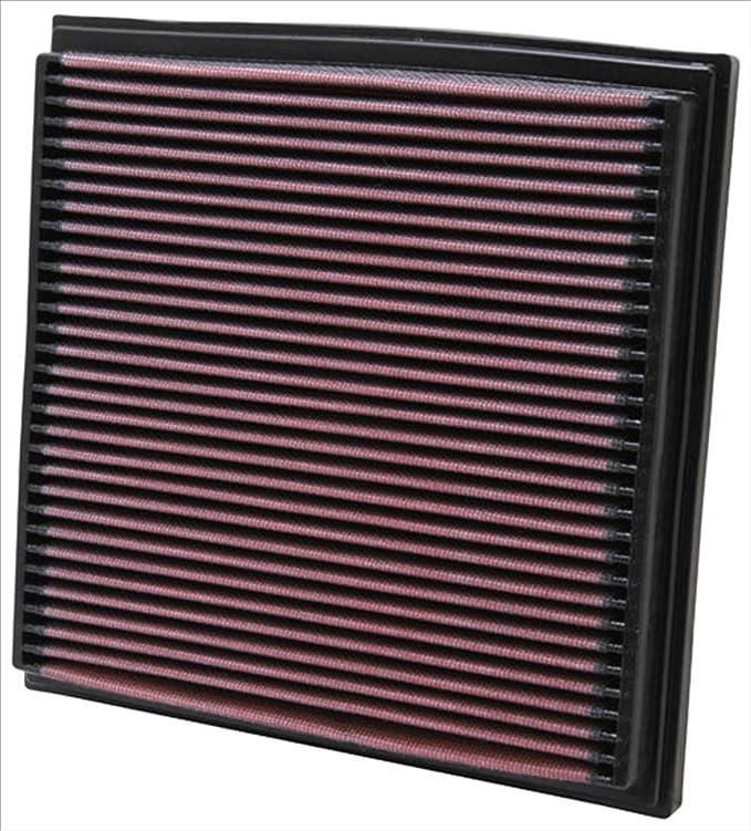K&N 33-2733 Filtro de Aire Coche, Lavable y Reutilizable: Amazon ...