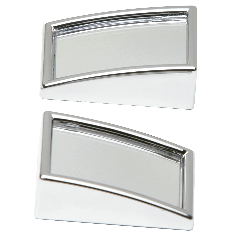 SUMEX 1035523 - Confezione da 2 specchi convessi per punto cieco, rettangolari e cromati DRIVER1