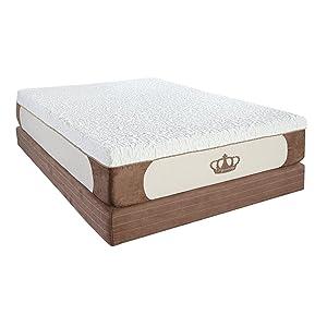 Dynasty Mattress Cool Breeze 12-Inch Gel Memory Foam Mattress, King Size