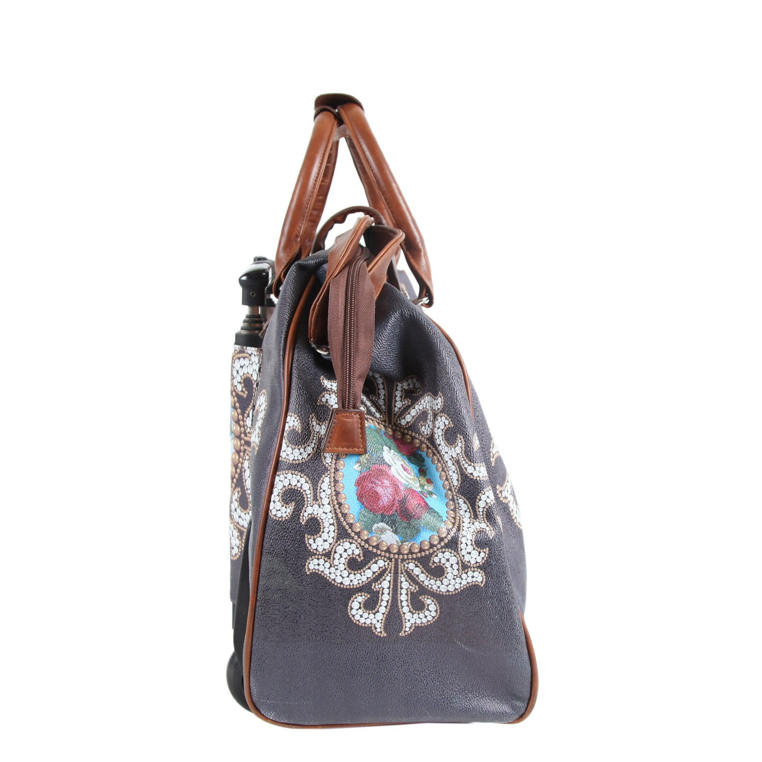 Nicole Lee Cheri Rolling Business Tote, Rose Pearl, One Size by Nicole Lee (Image #8)