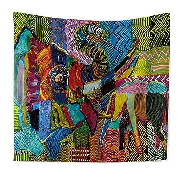 möbel im böhmischen stil elastische qees böhmischer wandteppich elefant wandbehang indischer stil hippie schönes wandtuch tischdecke strandtuch vorhang mehrzweck tuch einzigartiges amazonde