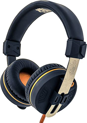 Orange O Edition On-Ear Closed-Back Headphones