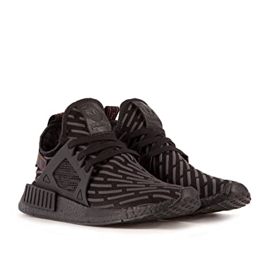 Mens Adidas NMD XR1 Triple Black BA7214 (Mens 7.5, Primeknit Black Core/Grey