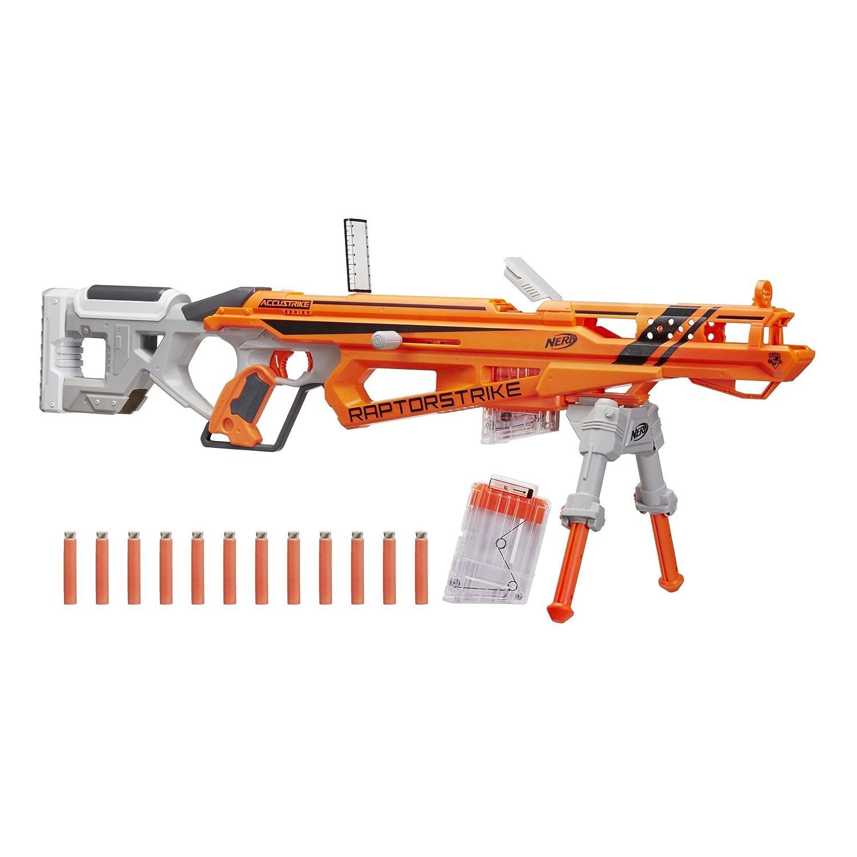 Giant nerf guns for boys sniper scope pistol shotgun vortex blaster machine  red