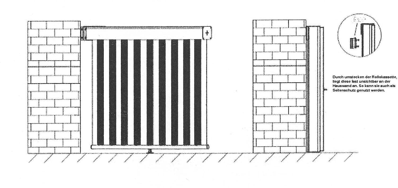 Sichtschutz Balkon Taupe Amazon Küche & Haushalt
