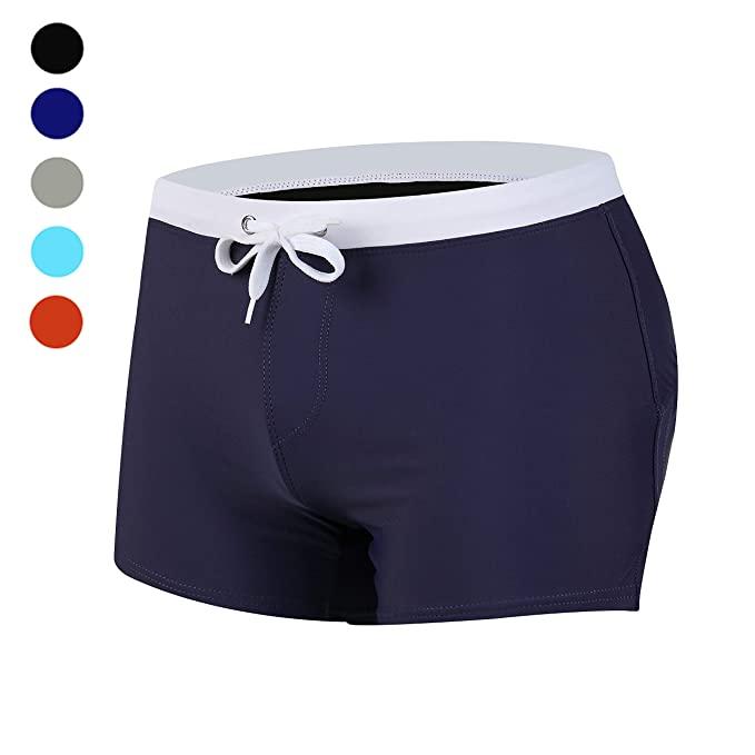8614cd7515 dh Garment Swim Shorts for Men with Zipper Pocket Surfing Trunks Swimwear  (Medium): Amazon.co.uk: Clothing