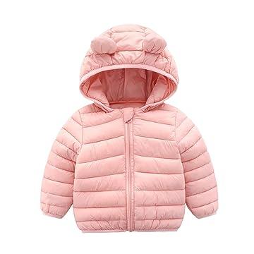Urtrend Baby Girls Toddler Kids Fall Winter Coat Jacket Outerwear Ears Hood Hoodie