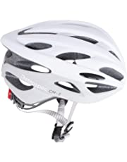 Retrospec by Westridge 3083 CM-3 Road Bike Helmet with LED Light Adjustable Dial, 24 vents