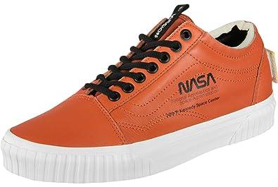 2785655b5c5387 Vans Old Skool NASA Space Voyager Baskets Orange Blanc - Multicolore -  Orange