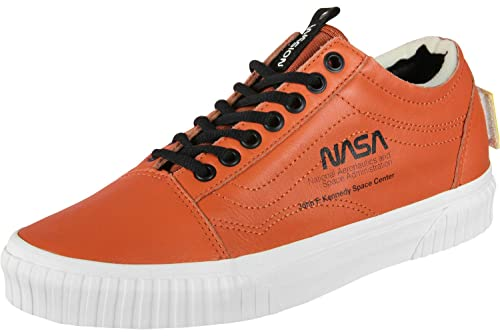 Vans Old Skool NASA Space Voyager Zapatillas Naranja/Blanco, Color, Talla 42.5 EU: Amazon.es: Zapatos y complementos