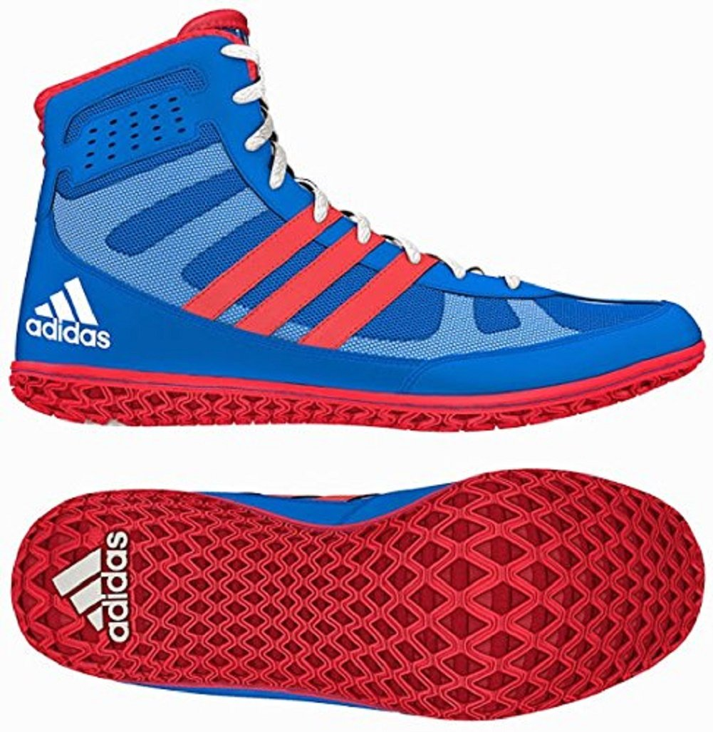 timeless design 3ec00 243f5 Galleon - Adidas Mat Wizard 3 David Taylor Edition Wrestling Shoes -  RoyalRedWhite - 11