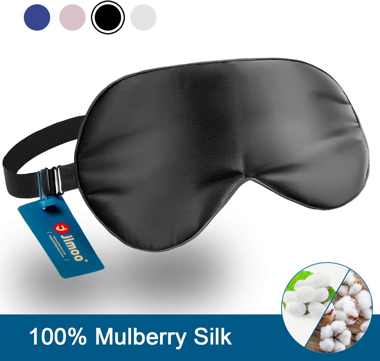 Quality Soft Padded 3D Sleep Aid Mask Black Flight Travel Accessory Blindfold