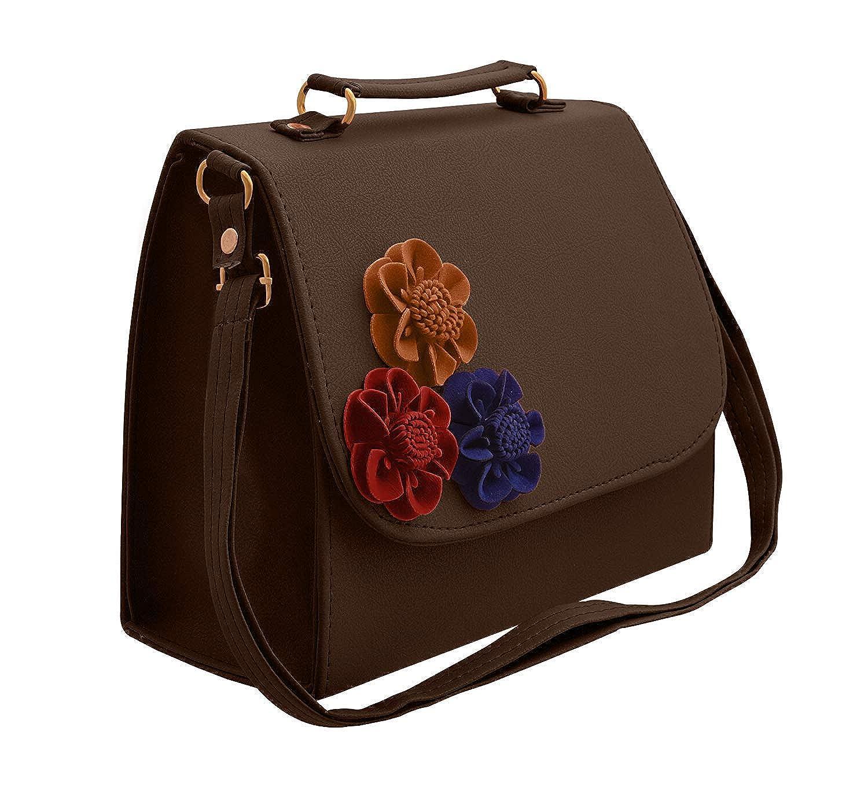 07d0266efe77 BFC Women s Synthetic Handbag  Amazon.in  Shoes   Handbags