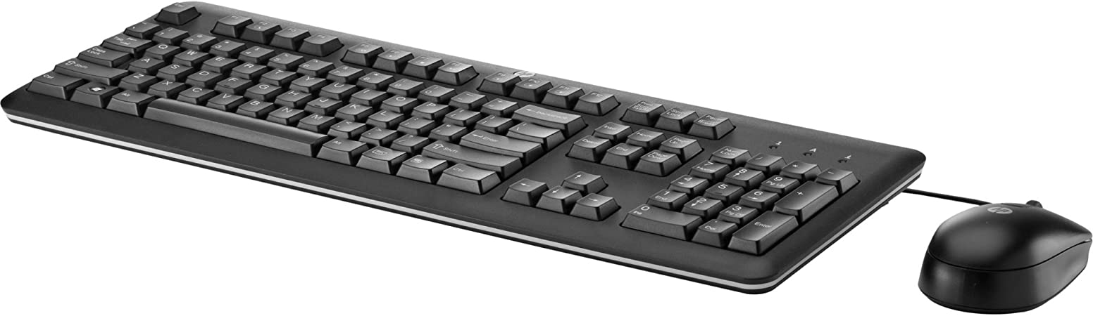 Renewed HP USB or PS//2 Wired BU207AT Keyboard and Mouse BU207AT#ABA