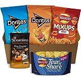 Walkers Doritos and Sensations Crisps & Snacks Party Box, 775g