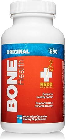 Redd Remedies, Bone Health Original, Natural Support with Vitamin D3 and Calcium, 120 Capsules