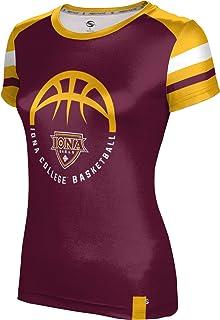 Old School School Spirit Sweatshirt ProSphere Siena College Basketball Girls Pullover Hoodie