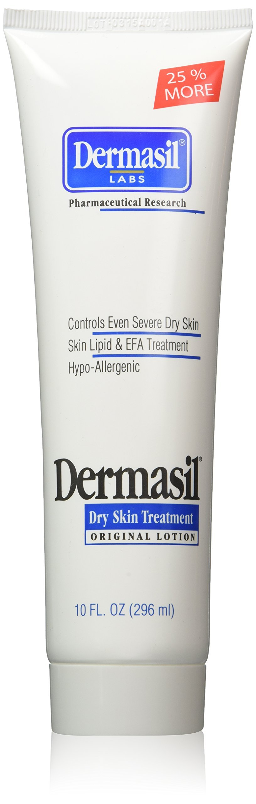 Dermasil Labs Dry Skin Treatment, Original Formula, 10 oz Tube, 3 Piece