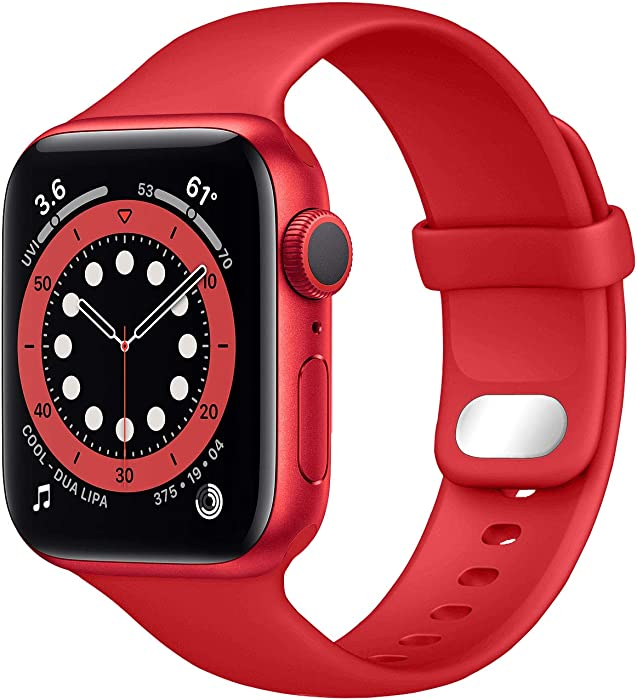 The Best Product Red Apple Watch Band 42Mm