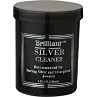 Brilliant 240ml Silver Jewellery Cleaner with Cleaning Basket