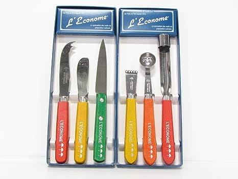 Amazon.com: SABATIER 6 piece starter set with colored wood ...