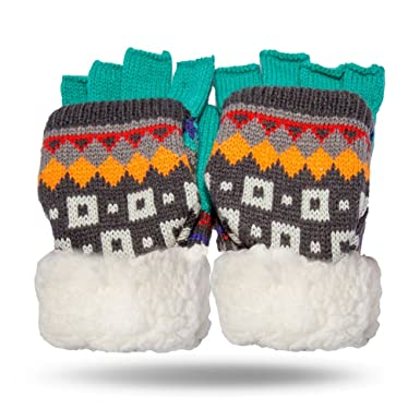 Amazon.com  Pudus Fingerless Gloves 07da8aa14edd