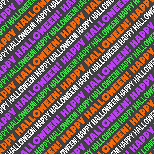 Happy Halloween Premium Gift Wrap Wrapping Paper -