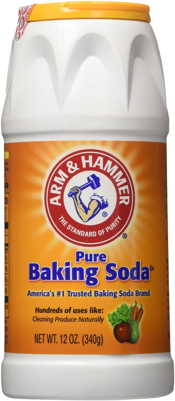 Arm & Hammer Pure Baking Soda Shaker 12Oz (3)