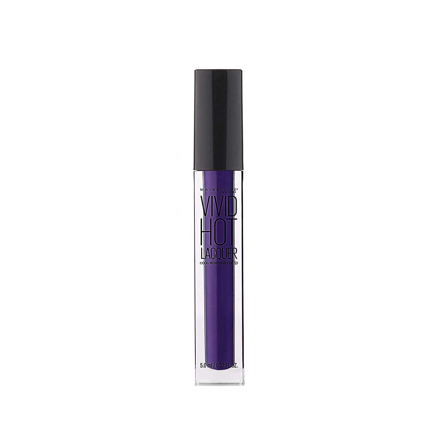 Maybelline New York Color Sensational Vivid Hot Lacquer Lip Gloss, So Hot, 0.17 Fluid Ounce K2370900