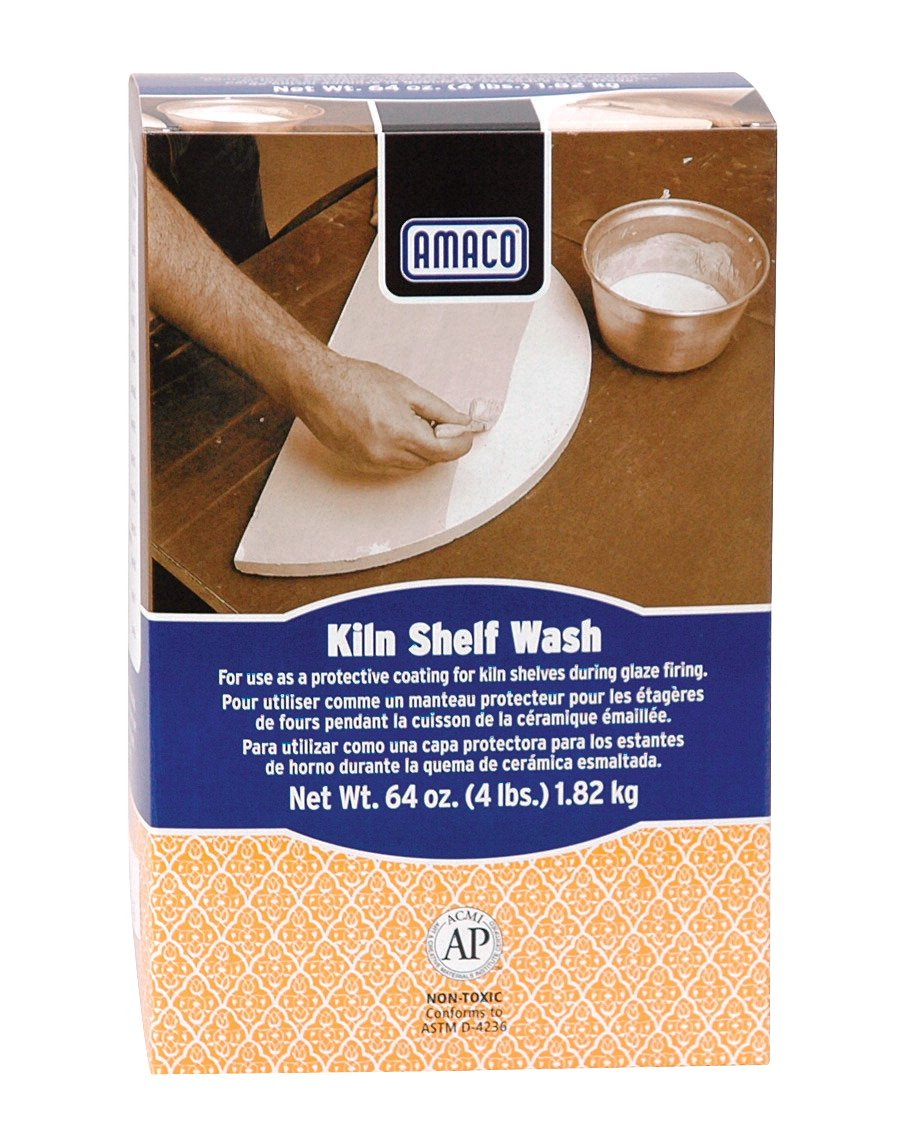 AMACO 4-Pound Carton Kiln Wash