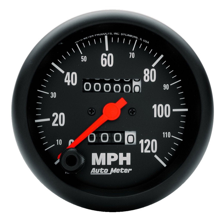 Auto Meter 2692 Z-Series In-Dash Mechanical Speedometer