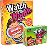 Watch Ya' Mouth Party Card Game, Family Bundle