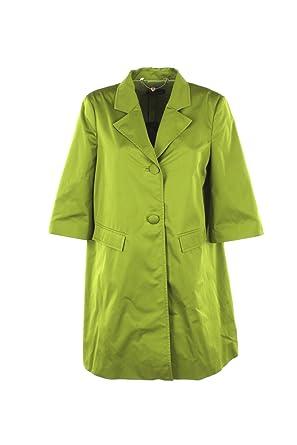 big sale 0ff2c 729b9 Twin-Set Cappotto Donna 42 Verde Ps82j1 Primavera Estate ...