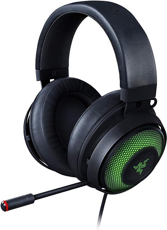 Razer Kraken Ultimate - Auriculares para juegos USB, Auriculares para juegos para PC y base de conmutación con sonido envolvente, micrófono y croma ...