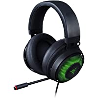Razer RZ04-03180100-R3M1 Kraken Ultimate RGB USB Gaming Headset With THX 7.1 Spatial Surround Sound - Chroma RGB…