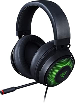 Razer RZ04-03180100-R3M1 Kraken Ultimate RGB USB Gaming Headset With THX 7.1 Spatial Surround Sound - Chroma RGB Lighting - Black