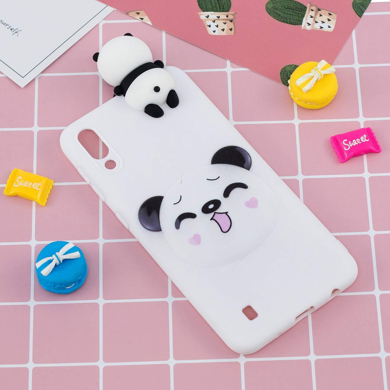 Chat HopMore Compatible pour Coque Samsung Galaxy A10 2019 Silicone Souple 3D Design Motif Panda Licorne Dr/ôle Etui /Étui Antichoc Ultra Mince Fine Housse Protection pour Fille Femme